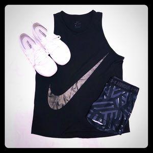 Nike dri-fit black tank